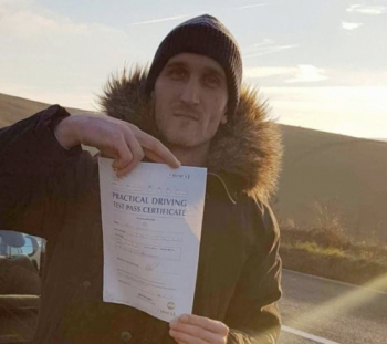 Congratulations to Norbet on passing his practical  driving test first time with only three minor faults....